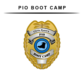PIO Boot Camp - Public Information Officer Training - Badge
